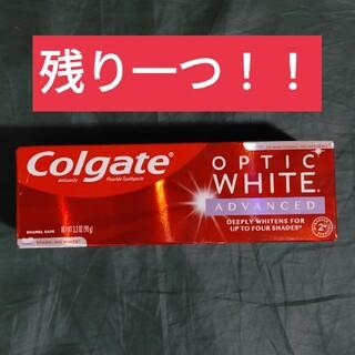 Crest - コルゲート オプティックホワイト advanced アメリカ産歯磨き粉×1