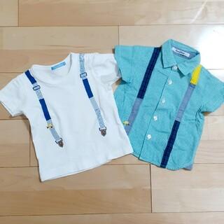 familiar - familiar❣️シャツ&Tシャツsize90