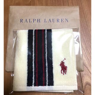 Ralph Lauren - ラルフローレン タオルハンカチ 新品未使用