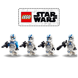 レゴ(Lego)のレゴ LEGO スターウォーズ 75280 501部隊クローントルーパー 4体(SF/ファンタジー/ホラー)