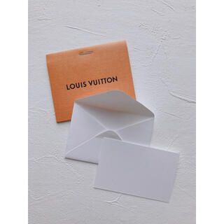 ルイヴィトン(LOUIS VUITTON)のLOUIS VUITTON メッセージカード(カード/レター/ラッピング)