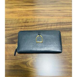 ラルフローレン(Ralph Lauren)のラルフローレン ラルフ あぶみ レザー 財布 馬蹄 本革製 長財布 サイフ(財布)