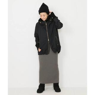 DEUXIEME CLASSE - 美品 CARIAGGI Knit スカート カーキ カシミヤ100%