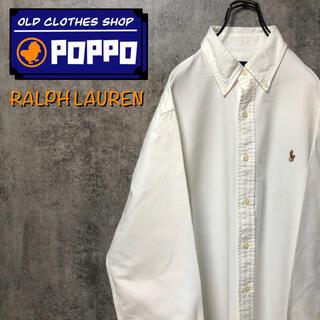 Ralph Lauren - ラルフローレン☆ワンポイント刺繍カラーポニーボタンダウンシャツ