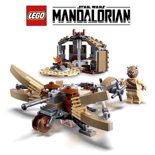 レゴ(Lego)のレゴ LEGO スターウォーズ 75299 タスケン・レイダー/飛行器/建物(SF/ファンタジー/ホラー)