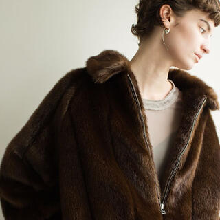 LEINWANDE Faux Fur Jacket