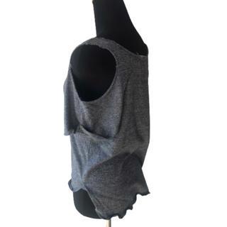 アゴストショップ(AGOSTO SHOP)のフルネルソン 肩あき 切りっぱなし t(Tシャツ(半袖/袖なし))