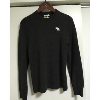 アバクロンビーアンドフィッチ(Abercrombie&Fitch)の【アバクロ】 セーター ウール100%   クリーニング済(ニット/セーター)