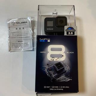 GoPro - 【傷なし/美品】GoPro8 箱/ケーブル/保証書付き