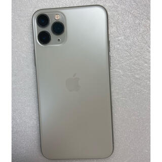 iPhone - iPhone11 Pro Silver 64Gb Simフリーバッテリー93%