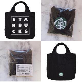 Starbucks Coffee - 【新品】台湾スターバックス エコバッグ サイレン 黒 ブラック