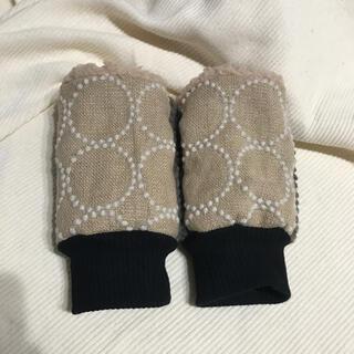 ミナペルホネン(mina perhonen)のミナペルホネン ハンドウォーマー タンバリン ベージュ(手袋)