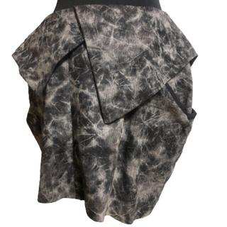アゴストショップ(AGOSTO SHOP)のBLACK PEARL タイダイ スカート(ミニスカート)