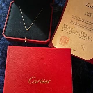 Cartier - カルティエ ネックレス ピンクゴールド