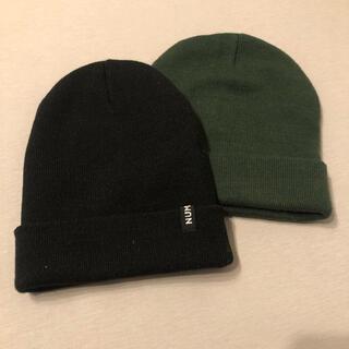 マウジー(moussy)のニット帽 2点(ニット帽/ビーニー)