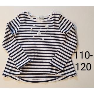 クミキョク(kumikyoku(組曲))の組曲 カットソー 110 120 長袖 Tシャツ 子供服 女の子(Tシャツ/カットソー)