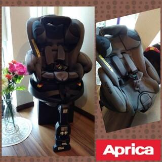 Aprica - ⒓♡美品♡アップリカ フラディアグロウ♡横向き固定♡回転式チャイルドシート♡