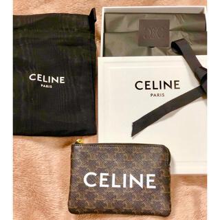 celine - ★入手困難★ CELINE コイン & カードポーチ トリオンフキャンバス