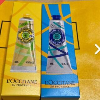 L'OCCITANE - ロクシタンハンドクリーム テ・アールグレイ&クラシックシア 30ml 2本セット