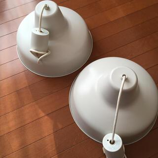 ムジルシリョウヒン(MUJI (無印良品))の無印良品 LED電球 2灯ペンダントライト 2個セット(天井照明)
