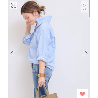 DEUXIEME CLASSE - 2019SS ドゥーズィエムクラス完売 washerシャツ ブルー 美品