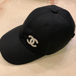 CHANEL - CHANEL 新作 キャップ 帽子 シャネル 未使用 ブラック