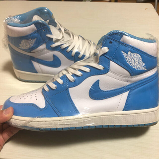NIKE - 27.5cm AIR Jordan 1 RETRO HIGH OG UNC