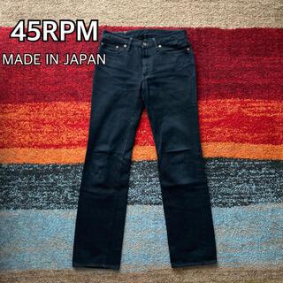 45rpm - 45RPM フォーティーファイブ デニム ストレート 日本製