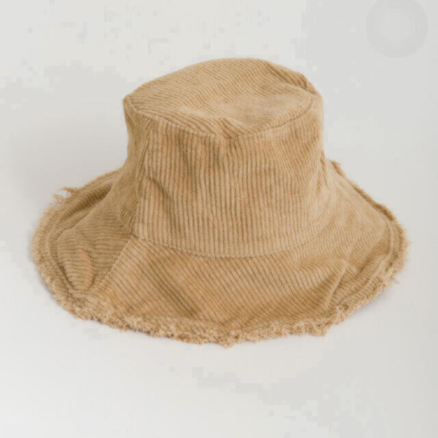 ZARA(ザラ)の【新品未使用品】コーデュロイ バケツハット レディースの帽子(ハット)の商品写真