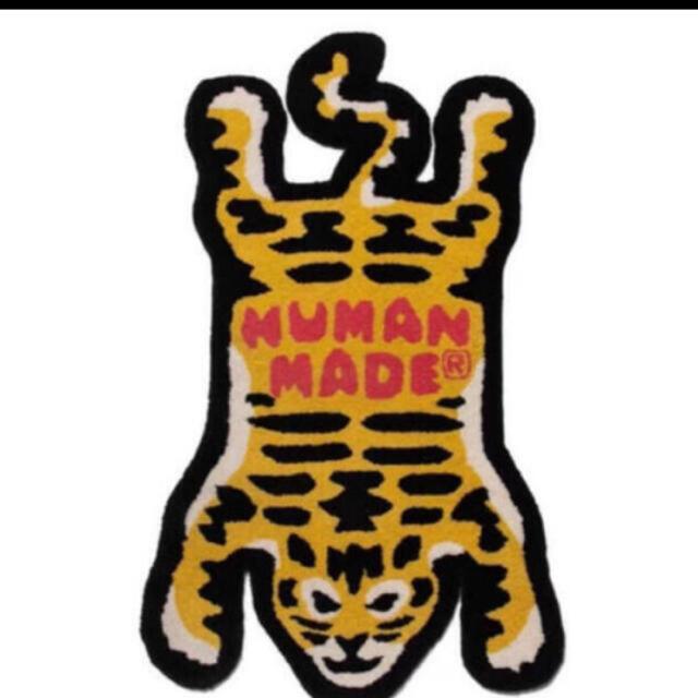 A BATHING APE(アベイシングエイプ)の20aw human made TIGER RUG LARGE ラグマット メンズのファッション小物(その他)の商品写真