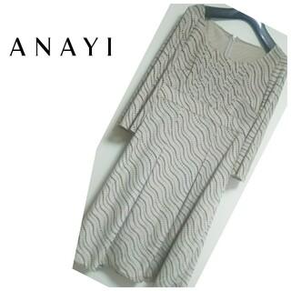 ANAYI - ⭐️ANAYI⭐️ベロア調ドット ワンピース