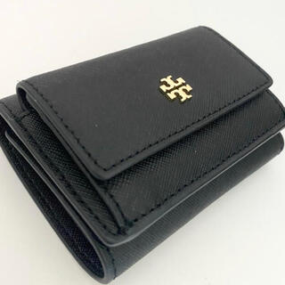 Tory Burch - 71626 トリーバーチ 三つ折財布 EMERSON ブラック