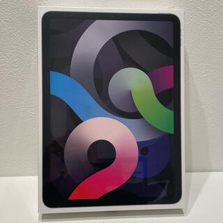 アップル(Apple)の【新品未使用】iPad Air 4 64GB Wi-Fi スペースグレー(タブレット)