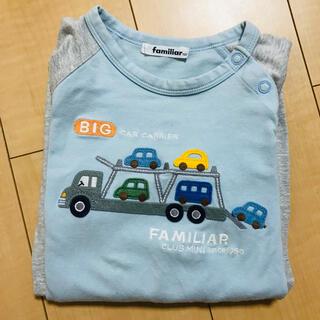 familiar - 【ファミリア】長袖 Tシャツ 100㎝