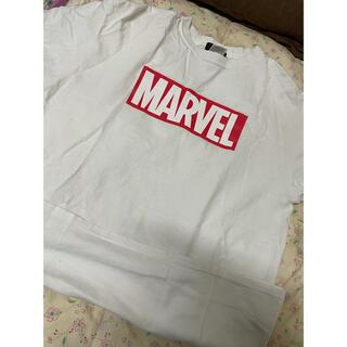 マーベル(MARVEL)のmarvel tシャツ(Tシャツ/カットソー(半袖/袖なし))