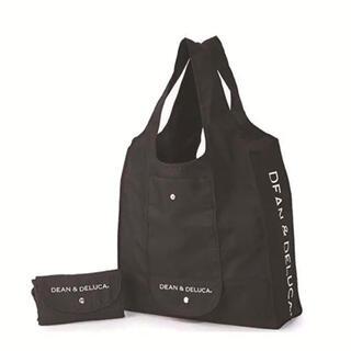 DEAN&DELUCA 折り畳み式エコバッグ ショッピングレジ袋 ブラック