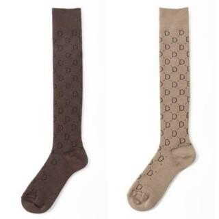ドゥーズィエムクラス(DEUXIEME CLASSE)の完売Deuxieme Classeの  jacquard socks,2足セット(ソックス)