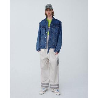 ADER ERROR Rivet label denim jacket(Gジャン/デニムジャケット)