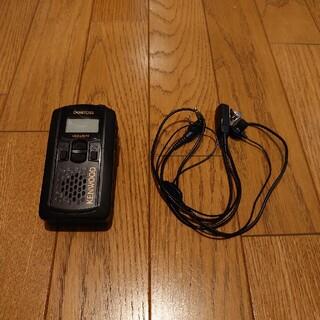 ケンウッド(KENWOOD)の特定小電力トランシーバー UBZ-LP27R ブラック KENWOOD(アマチュア無線)