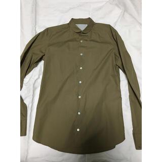 kolor - kolor(カラー)17ssコットンラウンドカラーシャツ