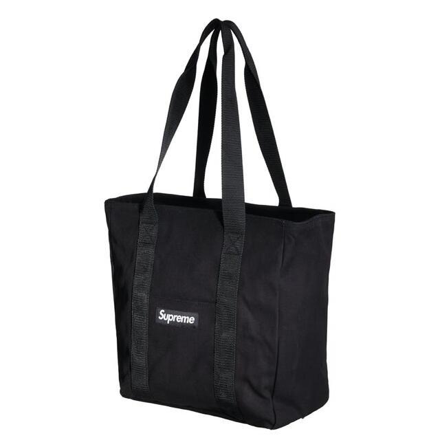 Supreme(シュプリーム)のsupreme Canvas tote シュプリーム トートバック 黒 メンズのバッグ(トートバッグ)の商品写真