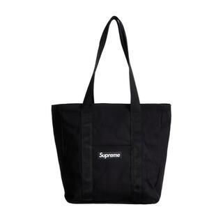 Supreme - supreme Canvas tote シュプリーム トートバック 黒