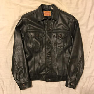 Supreme - Supreme Levis Leather Trucker Jacket M