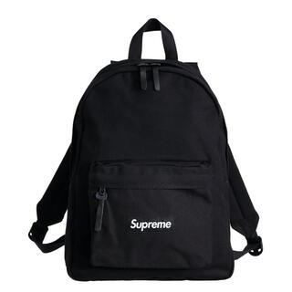 Supreme - supreme canvas backpack 黒