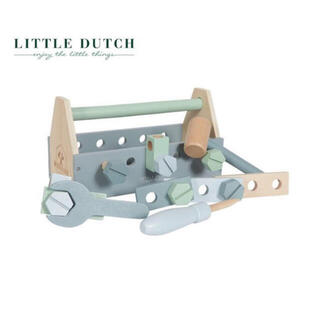 こども ビームス - LITTLE DUTCH リトルダッチ  木製 ツールボックス☆ 木のおもちゃ