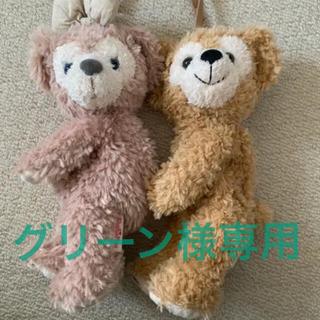 Disney - ダッフィー・シェリーメイ ぬいぐるみ