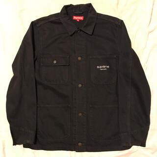 シュプリーム(Supreme)のSupreme Denim Chore Coat Jacket デニム (Gジャン/デニムジャケット)