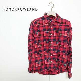 TOMORROWLAND - TOMORROWLAND トゥモローランド チェックシャツ