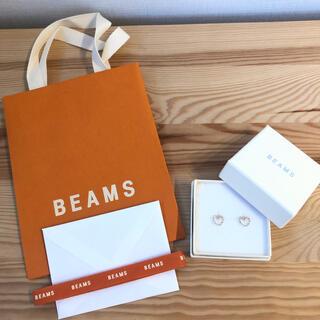 BEAMS - sale BEAMS 新品未使用 ワイヤーハートピアス