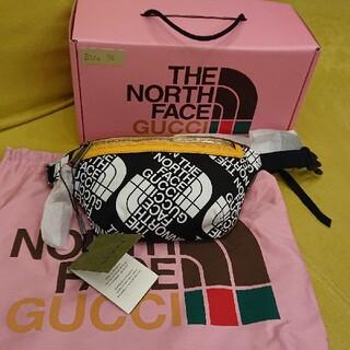 Gucci - GUCCI×THE NORTH FACE ボディーバッグ黒